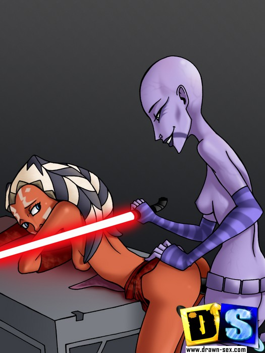 Sex toons. Star Wars: The Clone Wars porn. - Picture 3