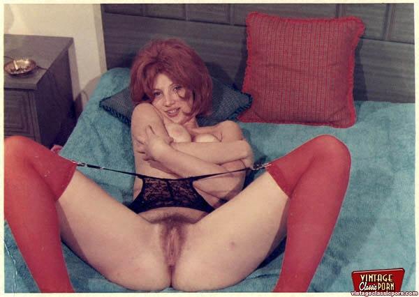 Ретро порно волосатые киски в работе фото