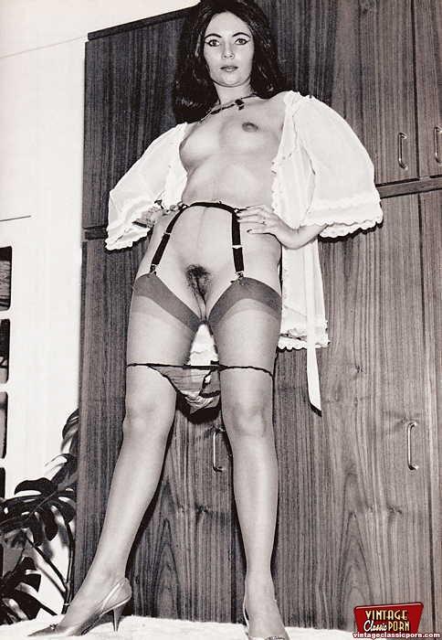 ретро порно фото женщин в чулках