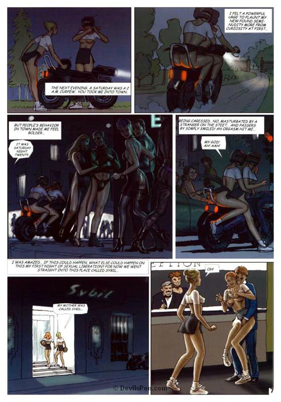 Slave comics. Adventures of a teen - BDSM Art Collection - Pic 7