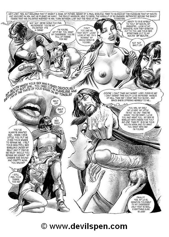 Slave girl comics. Arm guys fuck young - BDSM Art Collection - Pic 2