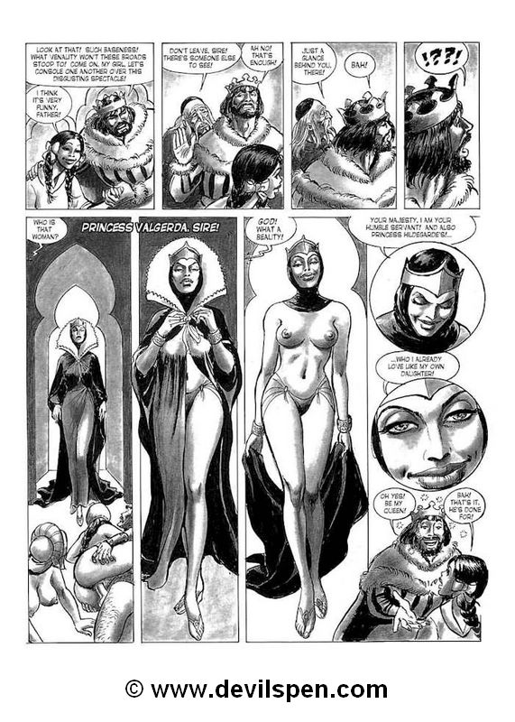 Slave girl comics. Arm guys fuck young - BDSM Art Collection - Pic 14