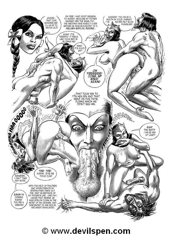 Slave girl comics. Arm guys fuck young - BDSM Art Collection - Pic 15