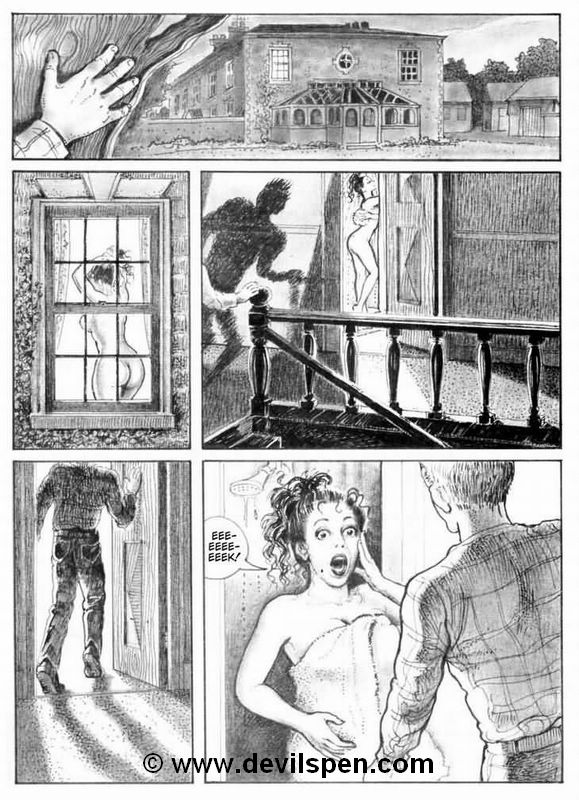 Bondage comics. Two young girls get - BDSM Art Collection - Pic 2