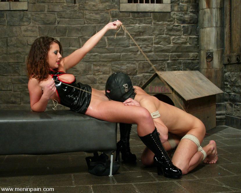 Male bondage, punishment, extreme cock and. - Free FemDom