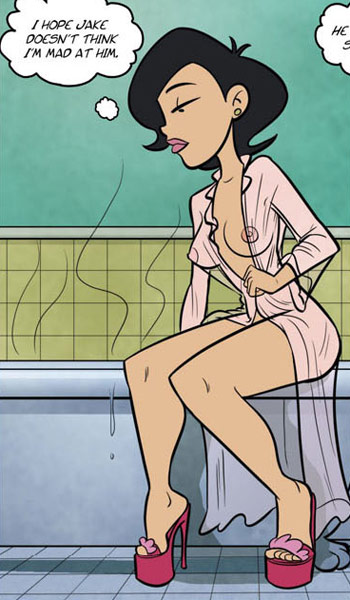 Sex toons. Ahhhh! I so needed - Cartoon Porn Pictures - Picture 4