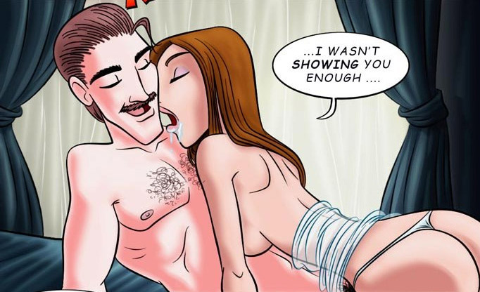 Comic sex galleries. Oh Richard! - Cartoon Porn Pictures - Picture 1