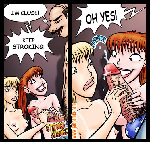 Adult sex comics. Get both of you - Cartoon Porn Pictures - Picture 4