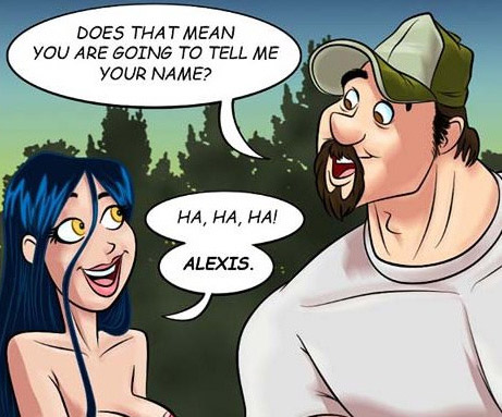 Adult cartoon comic. Girl flirts - Cartoon Porn Pictures - Picture 4