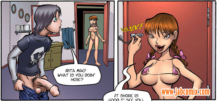 Free erotic comics. Rita Mae will - Cartoon Porn Pictures - Picture 3
