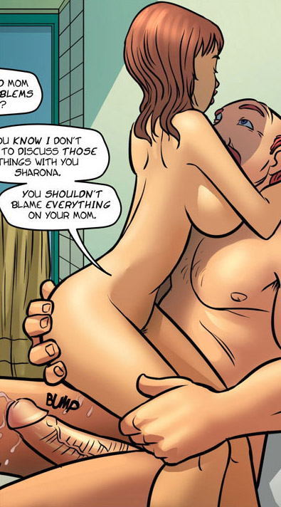 Adult comics stories. Horny - Cartoon Porn Pictures - Picture 6