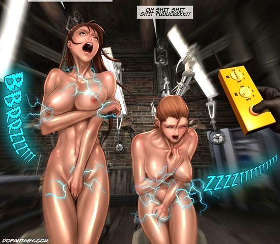 Cruel mad scientist forced his slave - BDSM Art Collection - Pic 3