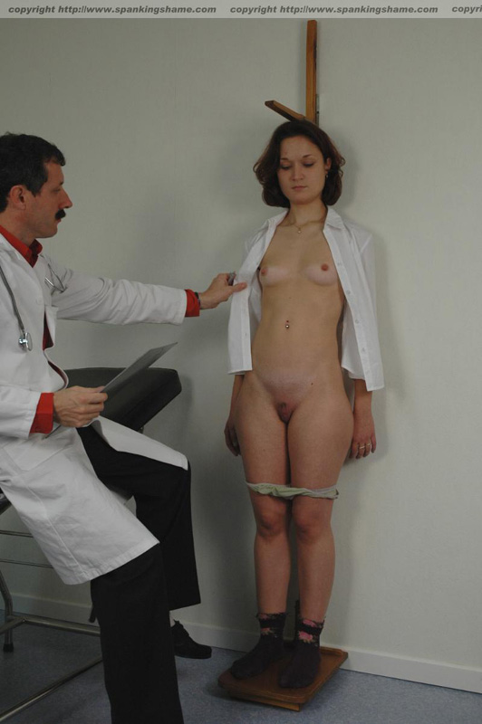 Doctor Fingering Patient Butt