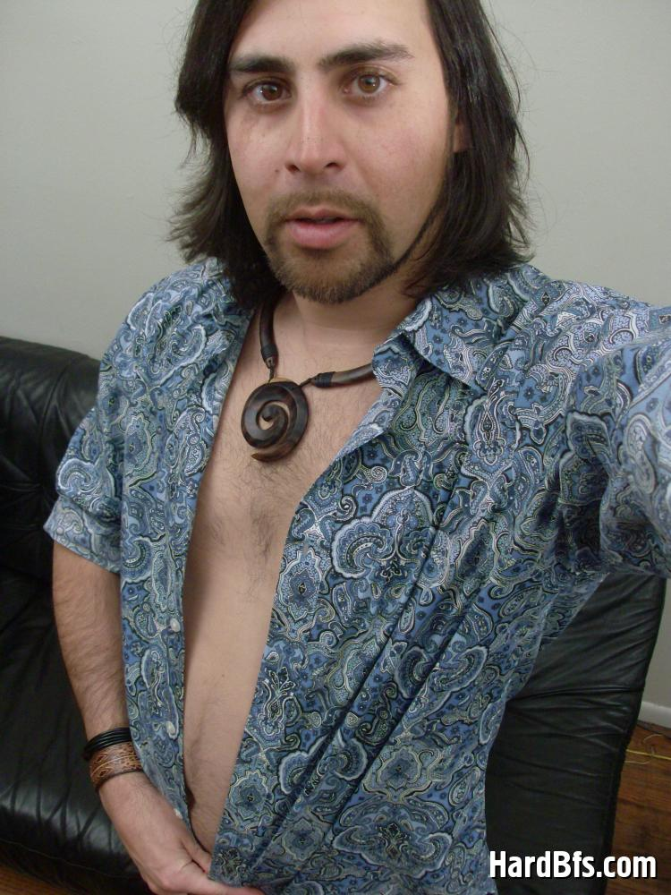 Long hair naked stud — img 10