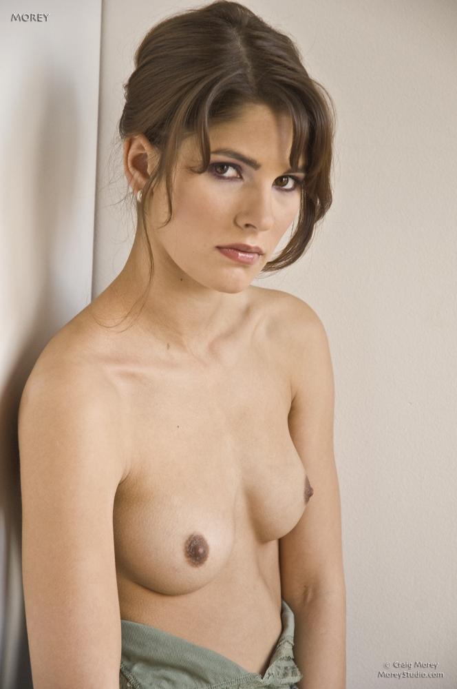 Hot Small Tits Brunette