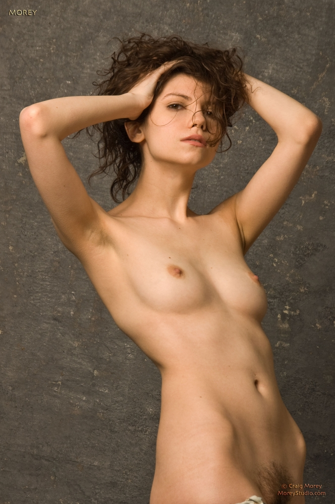 Erotic topless woman