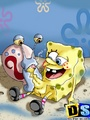 Cartoon sex. SpongeBob hunts pussy. - Picture 9