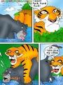 Toon porn comic. Mowgli's sex - Picture 7