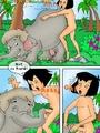 Toon porn comic. Mowgli's sex - Picture 9