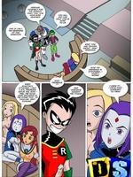 Cartoon sex comics. Alien sex invasion.