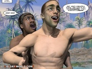 3d toon sex. SEX WITH THE PRIMEVAL CAVEMAN. - Picture 8