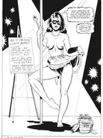 Toon sex comics. Woman gets tied up and toy fucked. - Picture 1