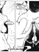 Toon sex comics. Woman gets tied up and toy fucked. - Picture 2