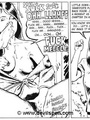 Toon sex comics. Woman gets tied up and - Picture 7