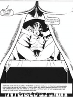 Toon sex comics. Woman gets tied up and toy fucked. - Picture 13