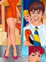 Porn comix. Witty comics with a shop assistant - Picture 2