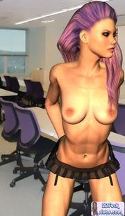 Adult 3d. Schoolgirl Tara. - Picture 8