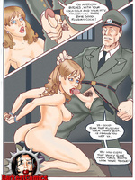 Slave cartoons. Femme jailbirds' trainings and - Picture 2