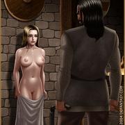 Bdsm cartoons. Slavegirls as booty of war. Great art - Picture 2