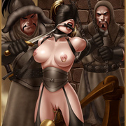 Bdsm cartoons. Slavegirls as booty of war. Great art - Picture 3