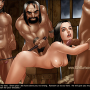 Bdsm cartoons. Slavegirls as booty of war. Great art - Picture 5