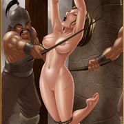 Bdsm cartoons. Slavegirls as booty of war. Great art - Picture 6
