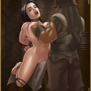 Bdsm cartoons. Slavegirls as booty of war. Great art - Picture 7