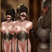 Bdsm cartoons. Slavegirls as booty of war. Great art - Picture 8