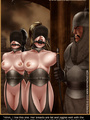 Bdsm cartoons. Slavegirls as booty of - Picture 8