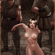 Bdsm cartoons. Slavegirls as booty of war. Great art - Picture 12