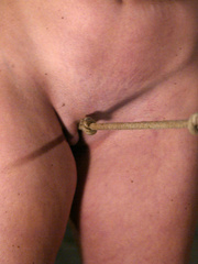Bondage xxx. Voluptuous Christina bound, - Unique Bondage - Pic 5