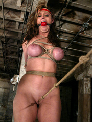 Bondage xxx. Voluptuous Christina bound, - Unique Bondage - Pic 6