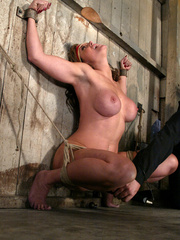 Bondage xxx. Voluptuous Christina bound, - Unique Bondage - Pic 8