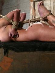 Bondage xxx. Voluptuous Christina bound, - Unique Bondage - Pic 10
