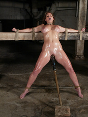 Bondage xxx. Voluptuous Christina bound, - Unique Bondage - Pic 13