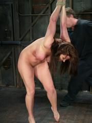 Bdsm girls. Christina Carter goes hard and - Unique Bondage - Pic 2