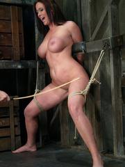 Bdsm girls. Christina Carter goes hard and - Unique Bondage - Pic 6