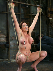Bdsm girls. Christina Carter goes hard and - Unique Bondage - Pic 7