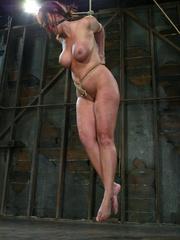 Bdsm girls. Christina Carter goes hard and - Unique Bondage - Pic 10