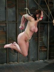 Bdsm girls. Christina Carter goes hard and - Unique Bondage - Pic 11